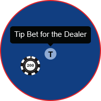 blackjack-tip-bet-dealer